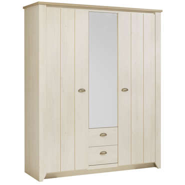 meubles gami armoire ellena 3 portes 2 tiroirs l170cm. Black Bedroom Furniture Sets. Home Design Ideas