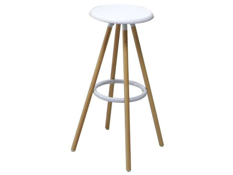 tabouret de bar de cuisine novi coloris blanc vente de bar et tabouret de bar conforama. Black Bedroom Furniture Sets. Home Design Ideas