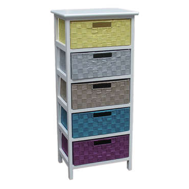 Mini commode 5 tiroirs