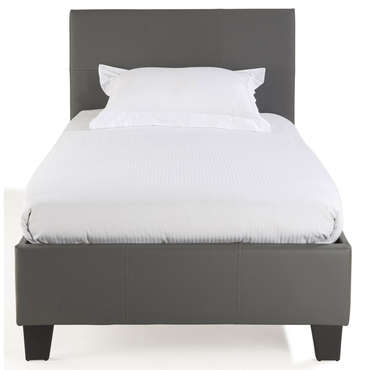 lit superpos gris bibop 3 90x190 cm et 140x190 cm pas cher avis et prix. Black Bedroom Furniture Sets. Home Design Ideas