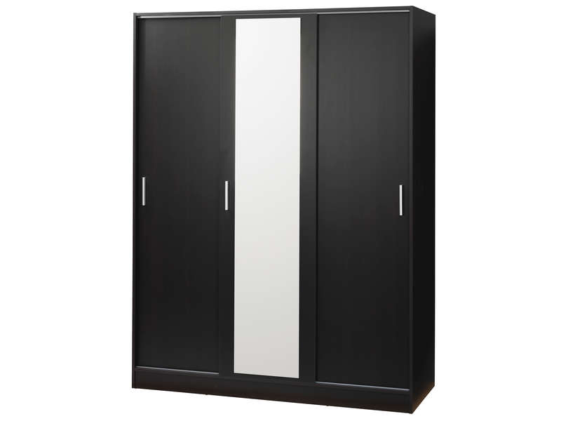 armoire 3 portes miry coloris weng vente de armoire. Black Bedroom Furniture Sets. Home Design Ideas