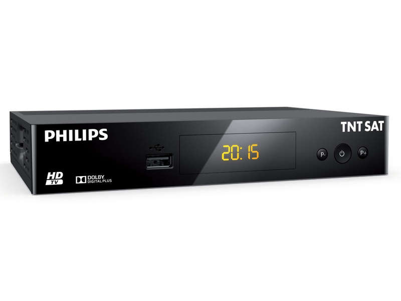 Terminal HD TNT gratuite par satellite PHILIPS DSR3231T