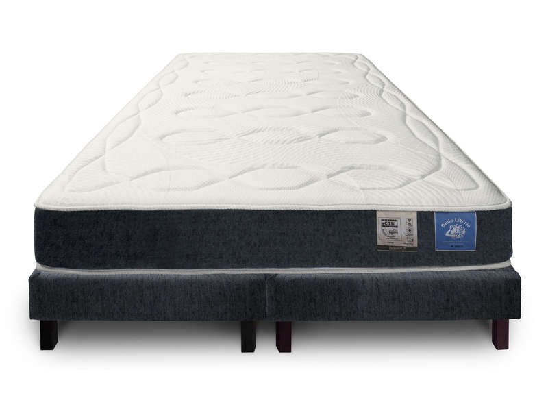 matelas sommier 160x200 cm benoist belle literie smart vente de ensemble. Black Bedroom Furniture Sets. Home Design Ideas