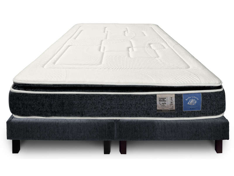 matelas sommier 160x200 cm benoist belle literie up to. Black Bedroom Furniture Sets. Home Design Ideas