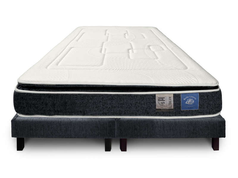 matelas sommier 180x200 cm benoist belle literie up to. Black Bedroom Furniture Sets. Home Design Ideas