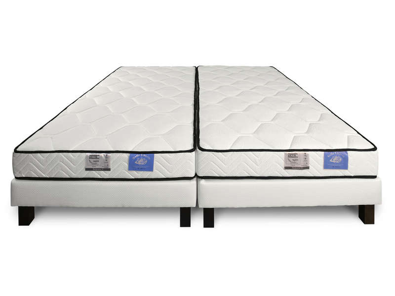 matelas sommier 2x80x200 cm benoist belle literie twin vente de ensemble matelas et sommier. Black Bedroom Furniture Sets. Home Design Ideas