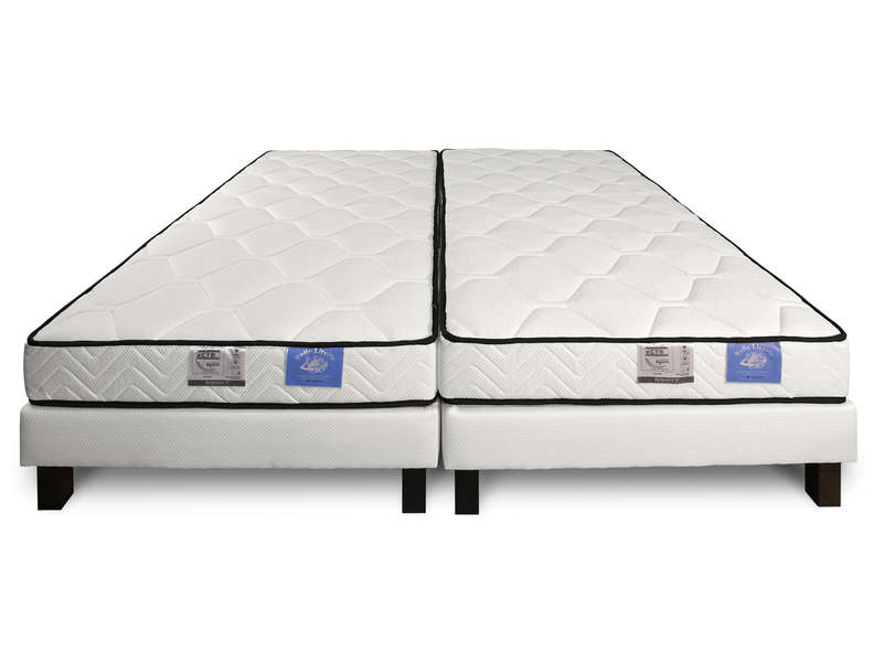 matelas sommier 2x90x200 cm benoist belle literie twin vente de ensemble matelas et sommier. Black Bedroom Furniture Sets. Home Design Ideas