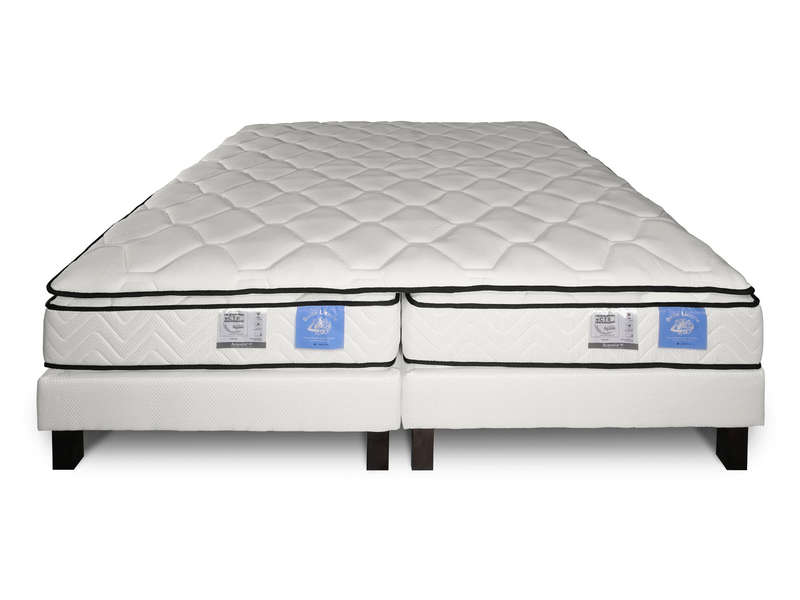 matelas sommier 2x80x200 cm benoist belle literie twin. Black Bedroom Furniture Sets. Home Design Ideas
