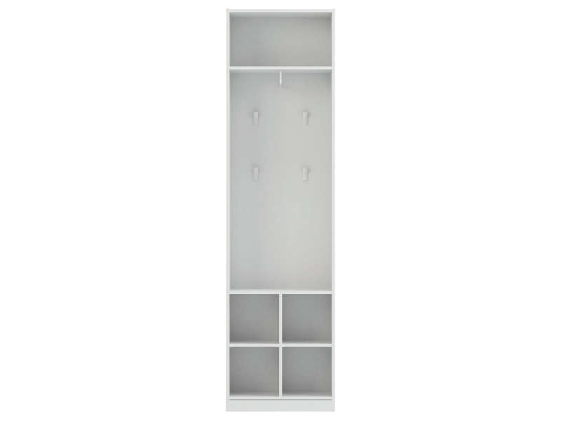 caisse cm twist coloris blanc vente de armoire conforama. Black Bedroom Furniture Sets. Home Design Ideas