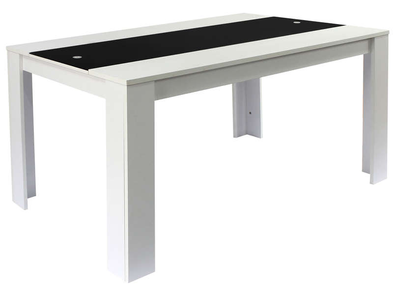 Table rectangulaire 160 cm for Table console pour cuisine