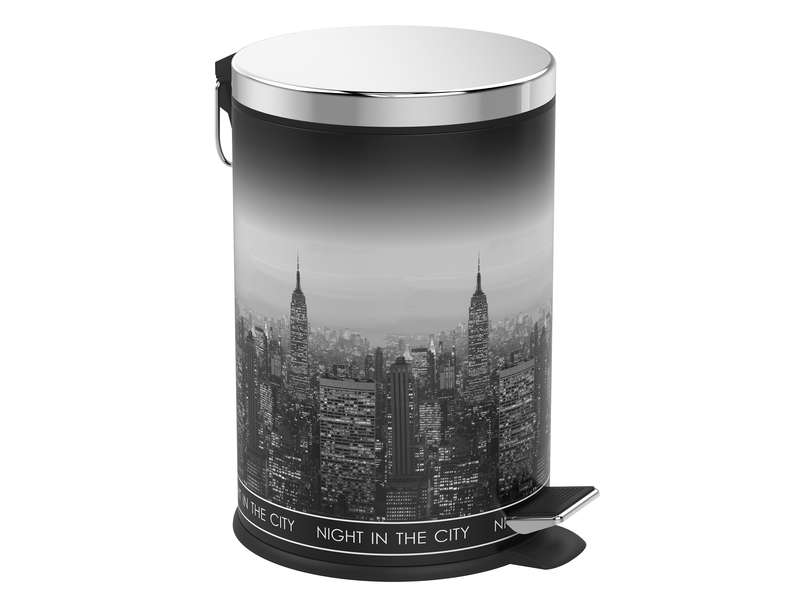 Poubelle cuisine 20 l new york vente de poubelle de for Poubelle new york chambre