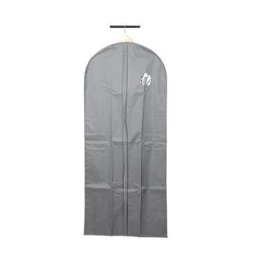 Housse de vêtement 135x60 cm coloris gris