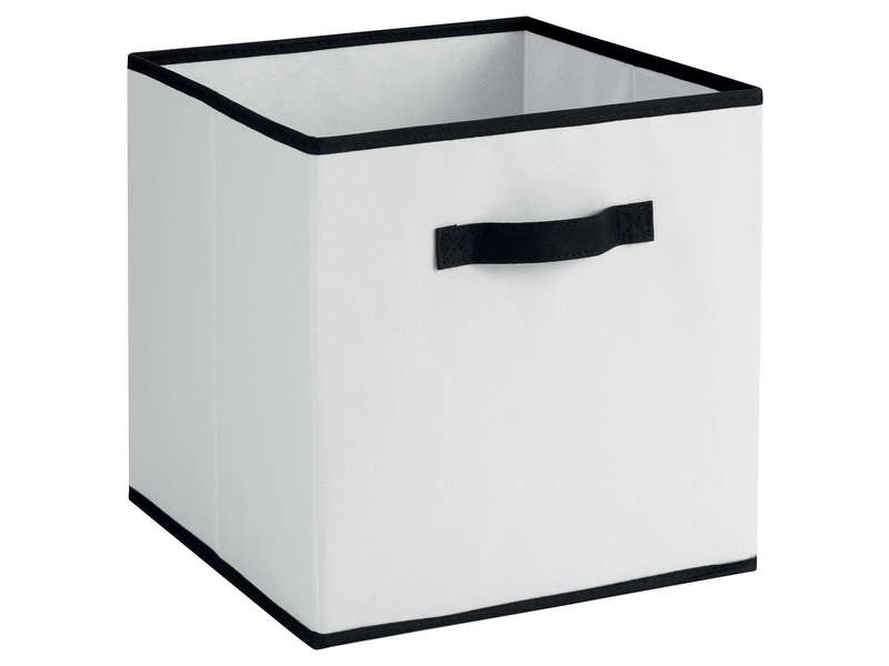 bo te de rangement petit mod le toutim coloris blanc vente de bo te de rangement conforama. Black Bedroom Furniture Sets. Home Design Ideas