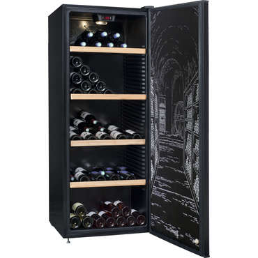 cave vin polyvalente 187 bouteilles climadiff clpp190 climadiff vente de autres. Black Bedroom Furniture Sets. Home Design Ideas