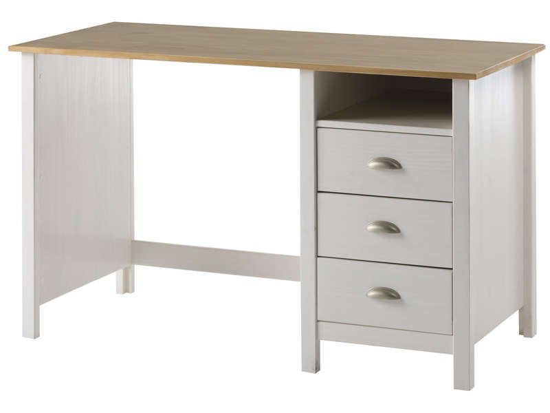 bureau jade coloris blanc et ch ne pas cher avis et prix en promo. Black Bedroom Furniture Sets. Home Design Ideas