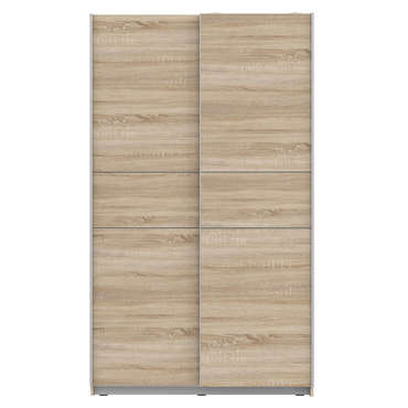 Meubles armoire 2 portes winner 2 coloris ch ne sonoma for Fenetre 90x140
