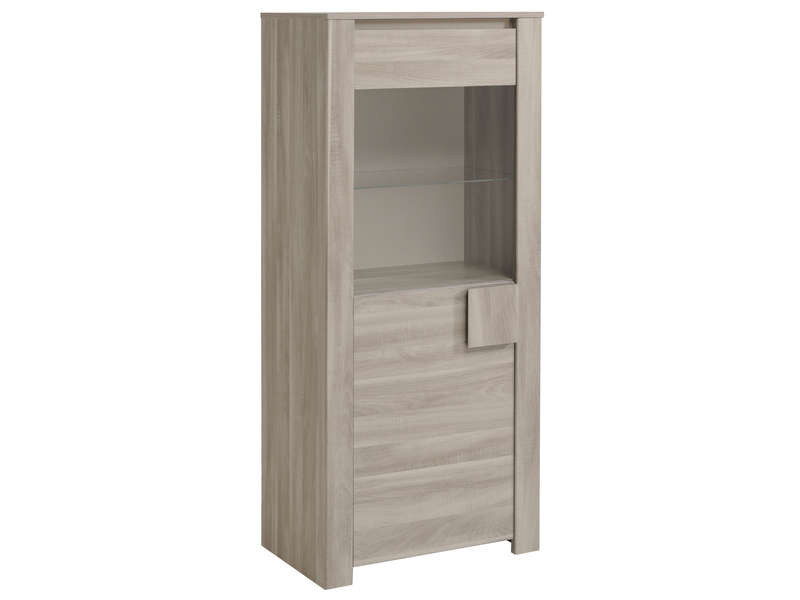 argentier 1 porte warren silex vente de buffet bahut vaisselier conforama. Black Bedroom Furniture Sets. Home Design Ideas