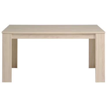 Table rectangulaire 160 cm (allonge en option)