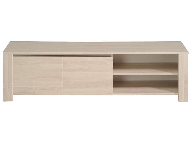 Meuble tv 151 3 cm warren sesame vente de meuble tv - Table rubis conforama ...