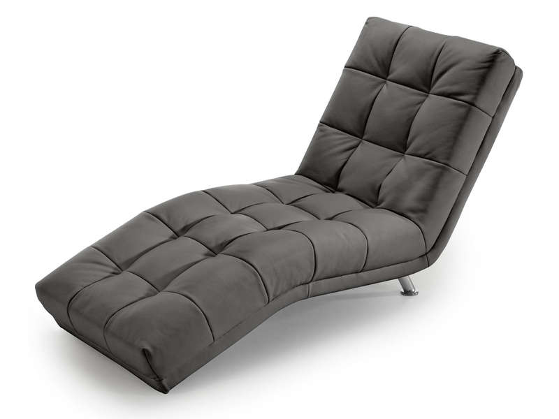 chaise longue salon conforama