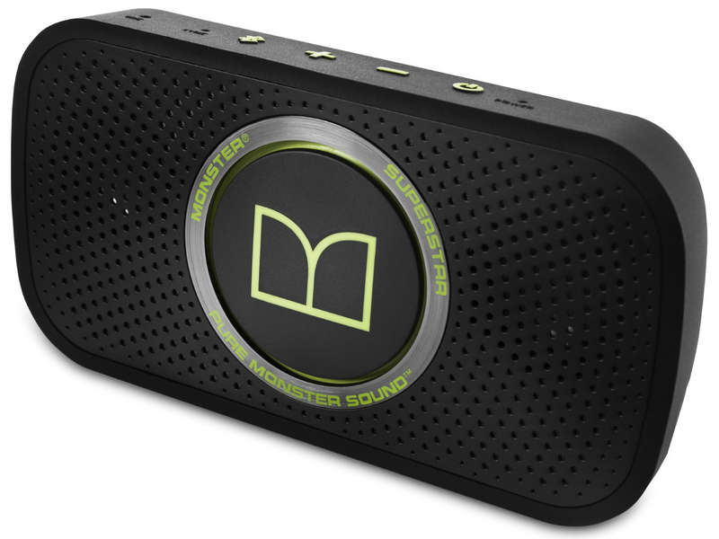 Enceinte nomade bluetooth MONSTER SUPERSTAR BLACK