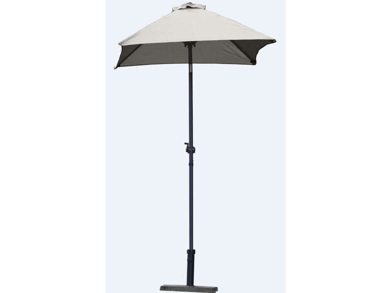 conforama parasol sans pied 130 cm cuba comparer les prix et promo. Black Bedroom Furniture Sets. Home Design Ideas