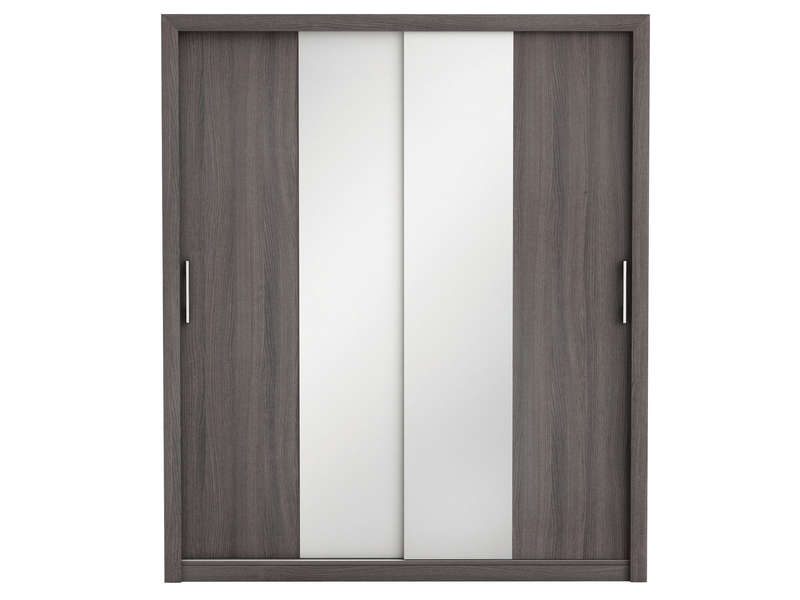 armoire 4 portes 2 tiroirs techno vente de conforama. Black Bedroom Furniture Sets. Home Design Ideas