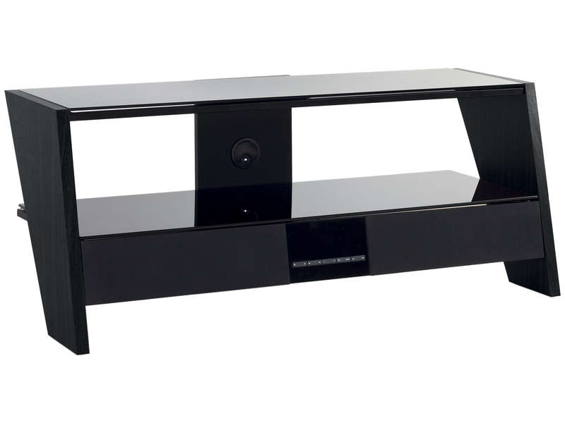 meuble tv intense moonlight black vente de meuble tv conforama. Black Bedroom Furniture Sets. Home Design Ideas