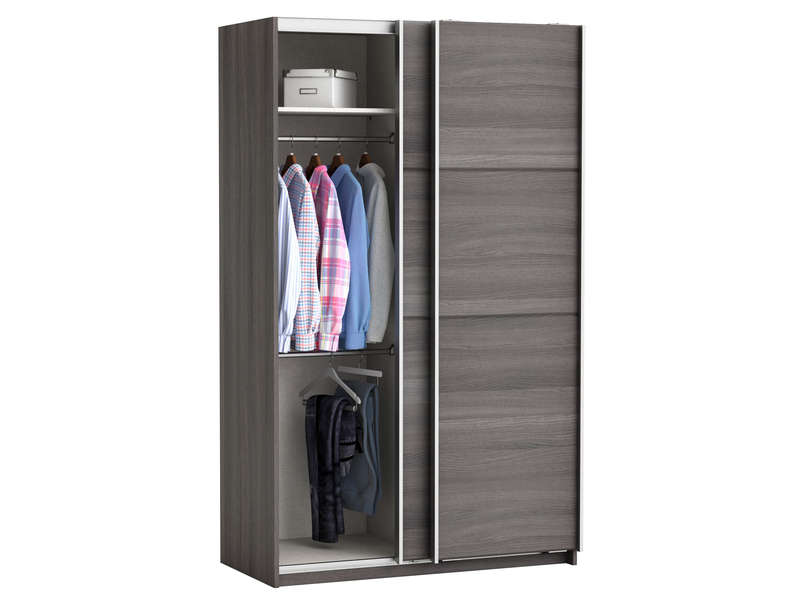 armoire fast 2 vente de armoire conforama. Black Bedroom Furniture Sets. Home Design Ideas