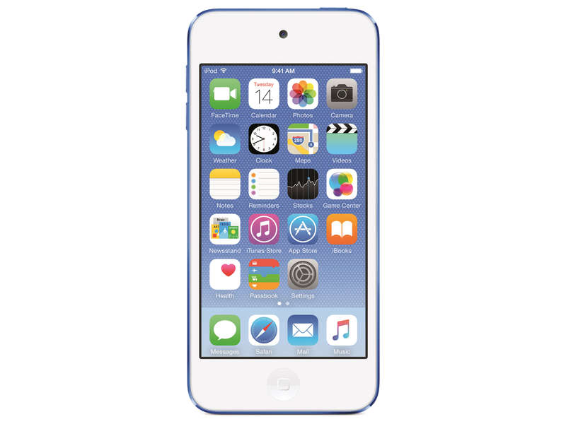 Baladeur mp3/4 APPLE IPOD TOUCH 16GO BLEU