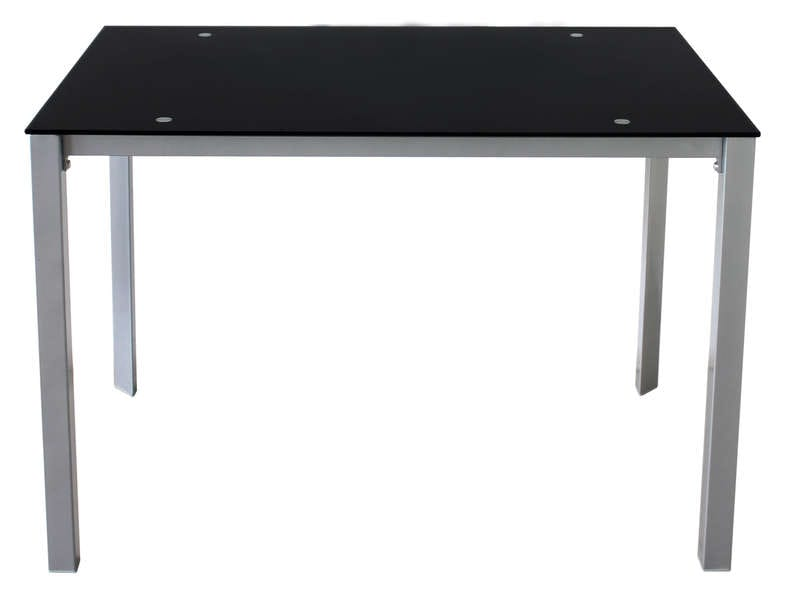 Table rectangulaire charlen vente de table conforama - Table de cuisine grise ...