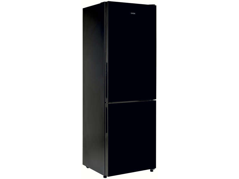 r frig rateur combin 297 litres saba cb296glbk saba vente de r frig rateur encastrable. Black Bedroom Furniture Sets. Home Design Ideas