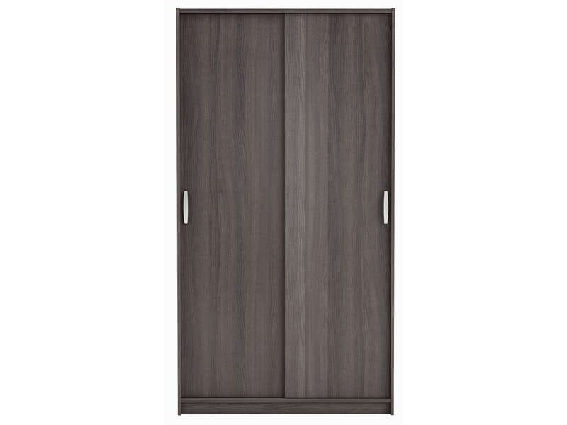 armoire 2 portes rolling coloris ch ne vulcano vente de armoire conforama. Black Bedroom Furniture Sets. Home Design Ideas