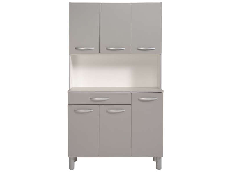 Buffet De Cuisine Spoon Color Gris  Vente De Buffet De Cuisine