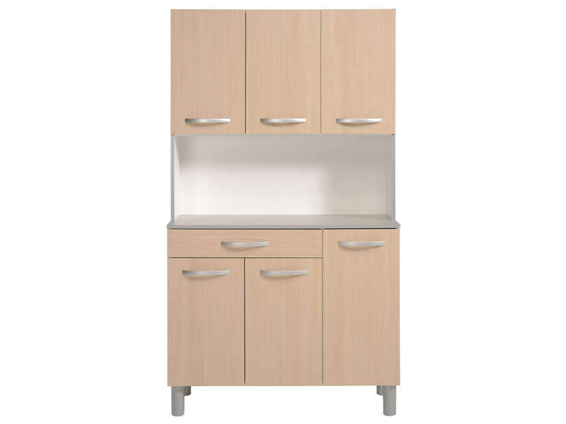 Buffet de cuisine spoon color chene vente de buffet de cuisine conforama - Meuble cuisine buffet ...