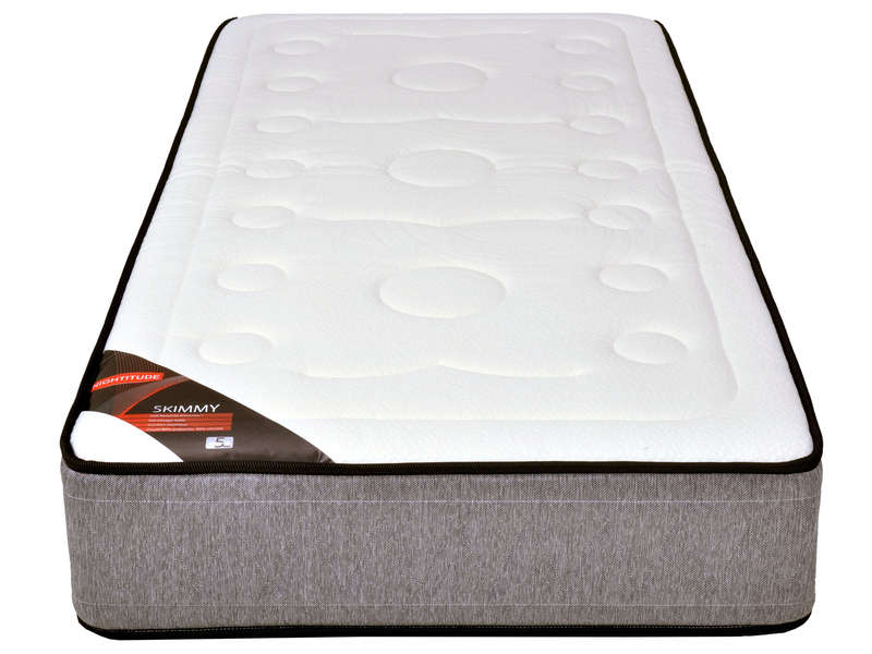 matelas ressorts 90x190 cm nightitude skimmy vente de matelas 2 personnes conforama. Black Bedroom Furniture Sets. Home Design Ideas