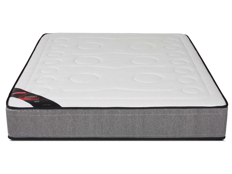 matelas ressorts 160x200 cm nightitude skimmy. Black Bedroom Furniture Sets. Home Design Ideas