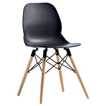 Chaise OSLO coloris noir