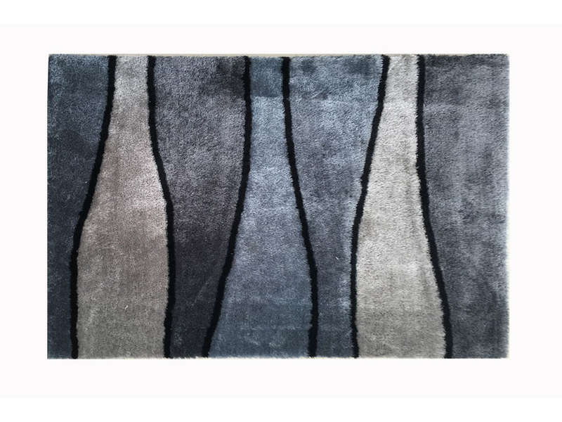 tapis 120x170 cm onda coloris gris vente de tapis conforama. Black Bedroom Furniture Sets. Home Design Ideas