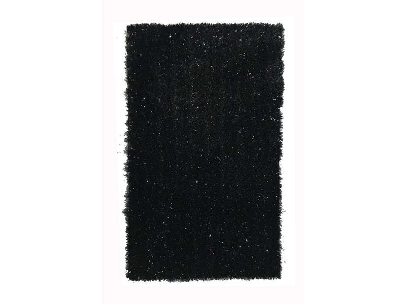 tapis 200x300 cm glitty coloris noir vente de tapis. Black Bedroom Furniture Sets. Home Design Ideas