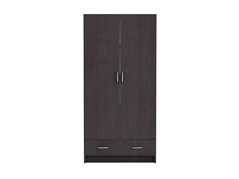 armoire 2 portes 1 tiroir cobi coloris b ne vente de. Black Bedroom Furniture Sets. Home Design Ideas