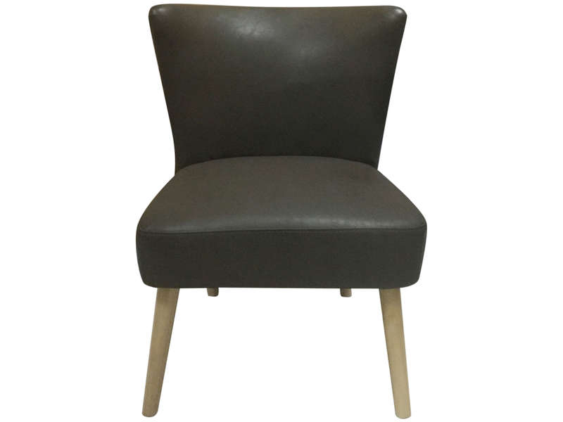 fauteuil victor coloris marron vente de tous les fauteuils conforama. Black Bedroom Furniture Sets. Home Design Ideas