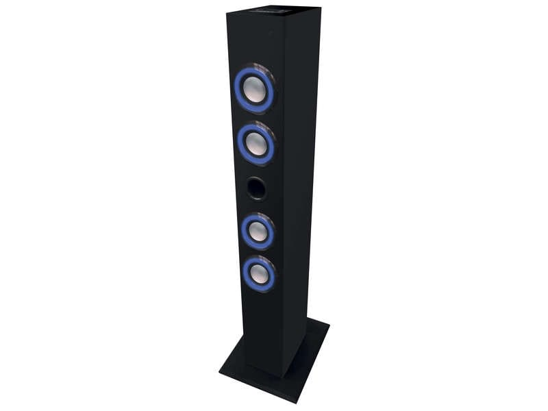 tour de son bluetooth avec led rec8 towerled 804 vente. Black Bedroom Furniture Sets. Home Design Ideas
