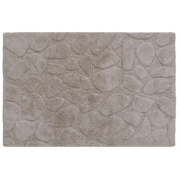tapis de salle de bain 60x90 cm galets coloris taupe vente de tapis de bain conforama. Black Bedroom Furniture Sets. Home Design Ideas