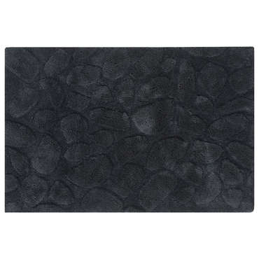 tapis de salle de bain 60x90 cm galets coloris anthracite vente de tapis de bain conforama. Black Bedroom Furniture Sets. Home Design Ideas