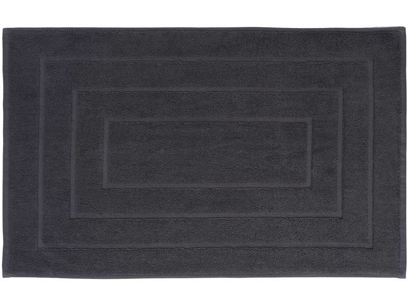tapis salle de bain cawa coloris anthracite pas cher. Black Bedroom Furniture Sets. Home Design Ideas