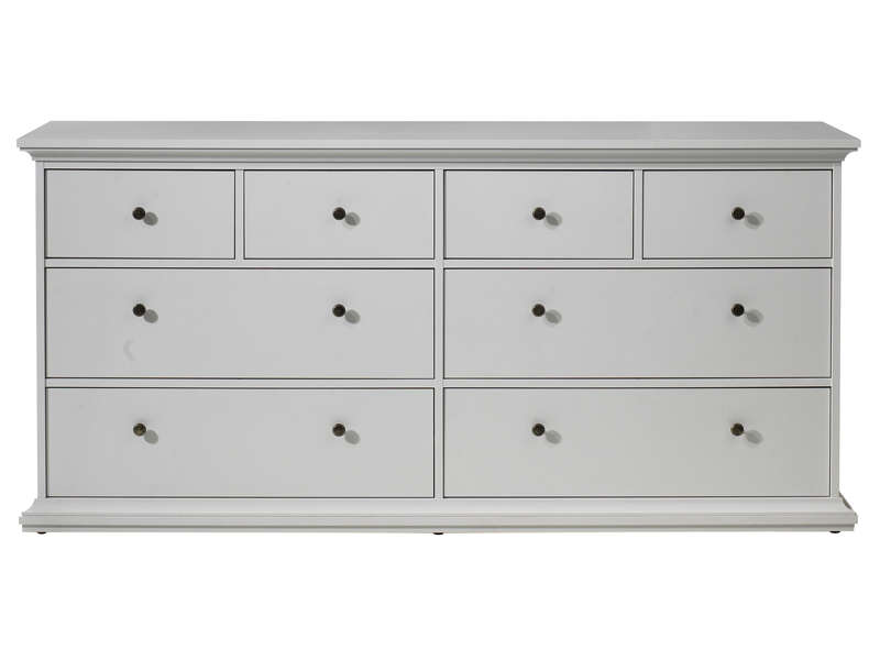 Commode Harlington Coloris Blanc Vente De Commode
