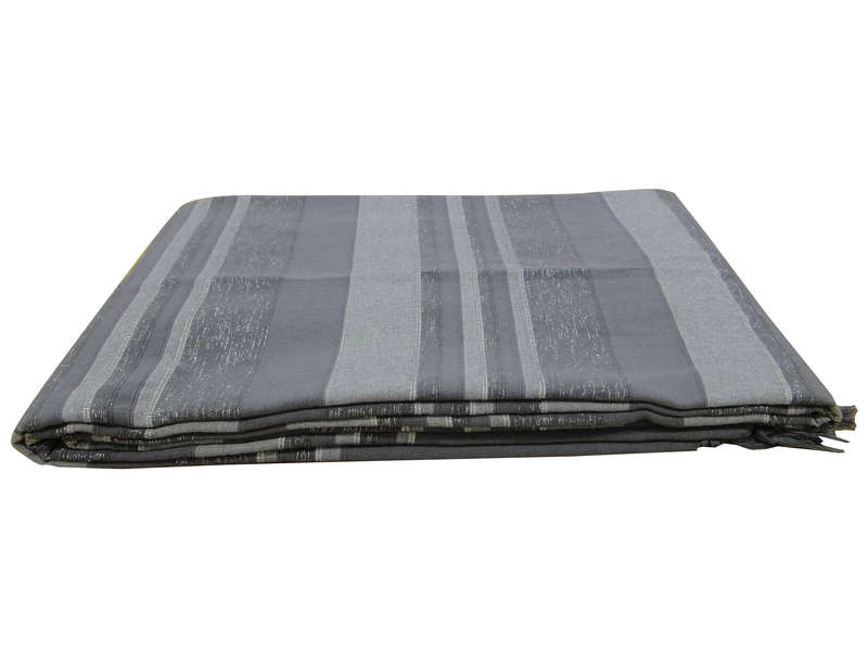 plaid 250x350 cm olivia coloris gris chez conforama. Black Bedroom Furniture Sets. Home Design Ideas