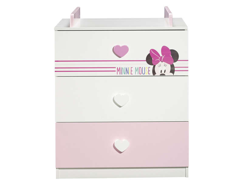 commode langer disney minnie mouse chez conforama. Black Bedroom Furniture Sets. Home Design Ideas