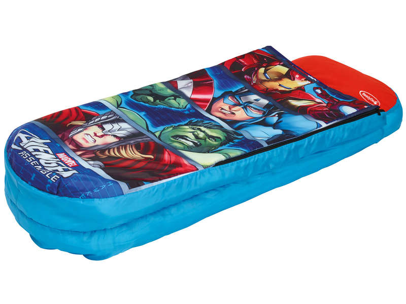 matelas gonflable sac de couchage enfant easy bed avengers vente de lit d 39 appoint et matelas. Black Bedroom Furniture Sets. Home Design Ideas